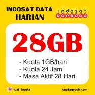 28GB (1GB/HR) 24 JAM 28HR