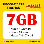 7GB (1GB/HARI) 24JAM 7HARI