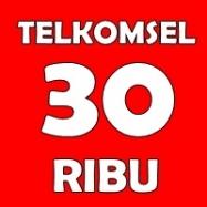 Telkomsel 30rb
