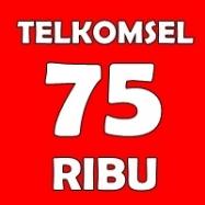 Telkomsel 75rb